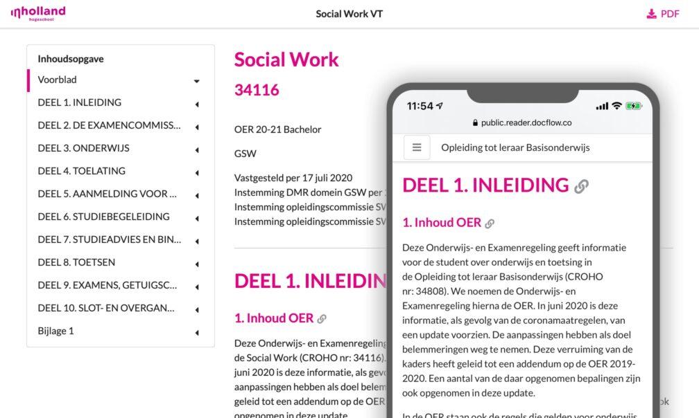 Online Publicatie Mobiel OER Write